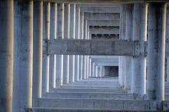 Underside κατασκευή γεφυρών Στοκ Εικόνα