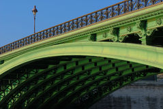 underside κυρίας notre Παρίσι pont στοκ φωτογραφία