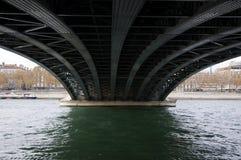 Underside of bridge Royalty Free Stock Photos