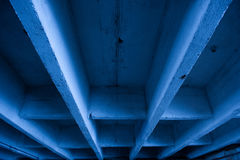 Underside of Concrete Bridge Stock Photography