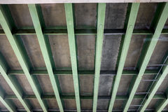 Underside of Highway Bridge Stock Photo