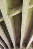 Underside of I5 Interstate Bridge Royalty Free Stock Photos