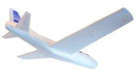 Underside of a Styrofoam Airplane Model Stock Image
