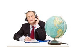 Understanding foreign languages Stock Image