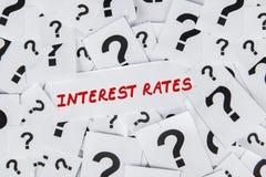 Understanding Interest Rates Stock Photo