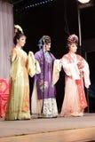 Understödjande aktriers, jinyuliangyuan stillheter för taiwanesisk opera Arkivfoto