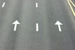 Underteckna på vägen Fotografering för Bildbyråer