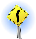 underteckna trafik Arkivbilder