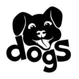 underteckna vektorn hundar vektor illustrationer