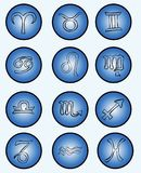undertecknar vektorzodiac royaltyfri fotografi