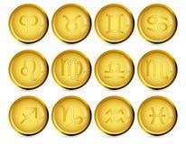 undertecknar zodiac Royaltyfri Fotografi