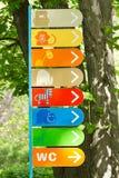 Undertecknar zoo Royaltyfria Foton