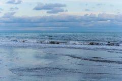 Undertow της θάλασσας Στοκ φωτογραφία με δικαίωμα ελεύθερης χρήσης