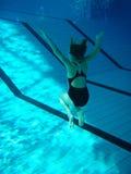 undervattens- övning Royaltyfria Bilder