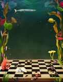 undervattens- stock illustrationer