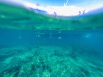 undervattens- abstrakt bakgrund Royaltyfria Foton