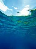 undervattens- abstrakt bakgrund Fotografering för Bildbyråer