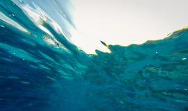 undervattens- abstrakt bakgrund Royaltyfria Bilder