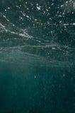 Undervattens- abstrakt begrepp Arkivbilder