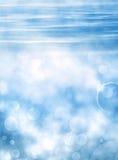 Undervattens- Bokeh Royaltyfri Bild