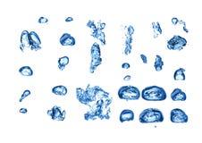 Undervattens- bubblauppsättning Arkivbild