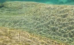 Undervattens- flodabstrakt begrepp Arkivbilder