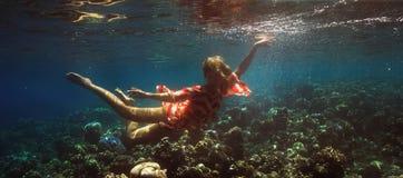 Undervattens- fors Arkivbild