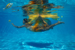 Undervattens- fors Royaltyfri Bild