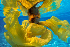 Undervattens- fors Arkivfoton