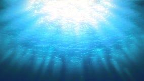 undervattens- hav stock video