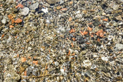Undervattens- kiselstenar Royaltyfri Fotografi