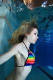 undervattens- kvinna fotografering för bildbyråer