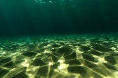 Undervattens- landskap av Röda havet Arkivbilder
