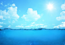 undervattens- plats arkivbild
