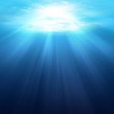 Undervattens- platsbakgrund Royaltyfri Bild
