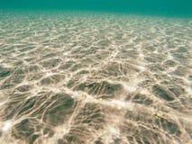 Undervattens- reflexioner Royaltyfri Foto