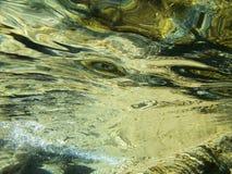 Undervattens- reflexioner Royaltyfri Bild