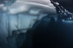 Undervattens- sikt för isberg Royaltyfri Bild