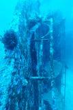 Undervattens- skepphaveri i Thailand Arkivbilder