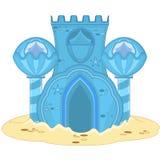 Undervattens- slott stock illustrationer