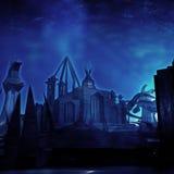Undervattens- stad Arkivfoton