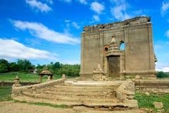Undervattens- tempel osedda Thailand Royaltyfria Bilder