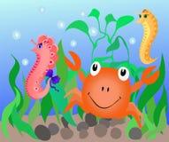 undervattens- värld Royaltyfri Bild