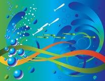 undervattens- värld royaltyfri illustrationer
