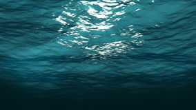 Underwater 3d animation, stock footage. Video stock video footage