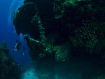 Underwater Anchor Stock Image