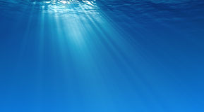 Underwater background Royalty Free Stock Images