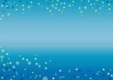 Underwater background. Original underwater background. Horizontal version royalty free illustration