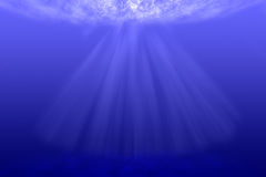 Underwater background. Royalty Free Stock Image
