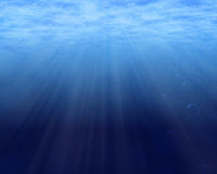 Underwater background Stock Photos